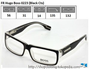FR Hugo Boss 0223 (Black Cts)