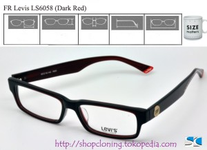FR Levis LS6058 (Dark Red)
