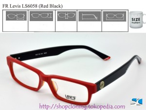 FR Levis LS6058 (Red Black)