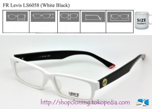 FR Levis LS6058 (White Black)