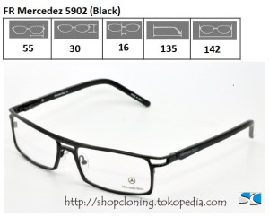 FR Mercedez 5902 (Black)
