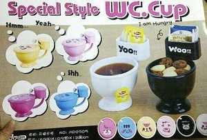 Rp.23000 Mug Wc / Mug Toilet , Grosir Mangkok Berbentuk Closet, Uniq,