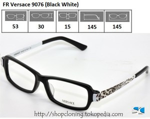 FR Versace 9076 (Black White)