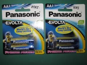 BATTERY PANASONIC EVOLTA A2