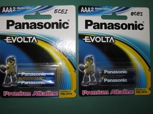 BATTERY PANASONIC EVOLTA A3