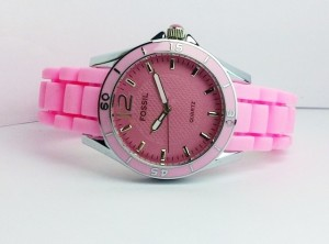 FOSSIL RILEY RUBBER (PINK)