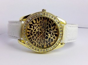 GUESS LUXIOS LEATHER (GOLD)