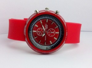 SWATCH CHRONO RUBBER (RED)