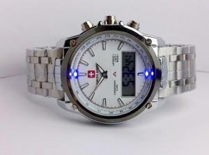 SWISS ARMY DUAL LASER (WHITE)