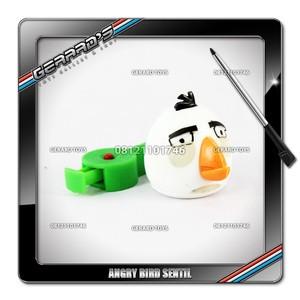 Angry Bird Sentil White