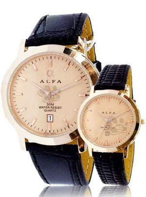ALFA CLC-12 LEATHER COUPLE (ROSE GOLD)