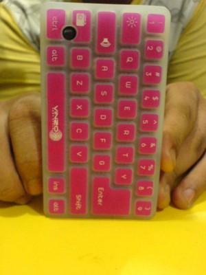 Silicon Keyboard Vinzo Pink  Gemini