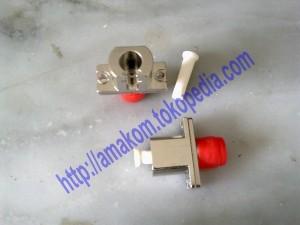 Hybrid Adapter & Optical Bare Fiber Adapter (Metal Type), FC-LC SM