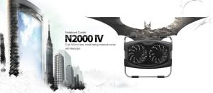 DEEPCOOL N2000-IV Notebook Cooler