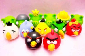 Pajangan Angry Bird