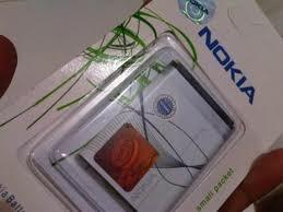 Nokia Original 100% Baterai BL 5B  Packing Press