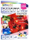 Silky Photo Paper (BP-SPA4260)- A4, 20 Sheet, 260gsm, Cast Coating, Silky, Water Resistant