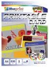 Printable Card (BP-PCA4830S) - A4, 5 Sheet, 830 um, Silver Laminating Plate