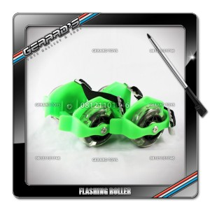Flashing Roller Green