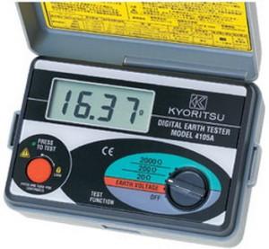 Kyoritsu 4105a Earth Tester (soft case)