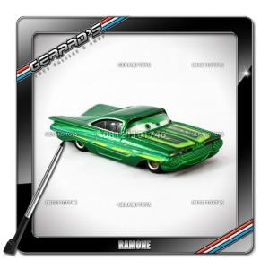 Ramone Green Eye Changer - Cars - Mattel - Loose