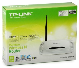 TP-Link Combo Set : TL-WR740N 150Mbps Wireless N Router &  TL-WN727N : Wireless USB Adapter 150 Mbps