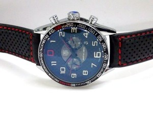 jam tangan TAG HEUER MP4 WJ LEATHER SERIES (BLACK RED)