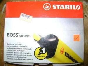 Highlighter/Stabilo Boss Per carton 10 Pcs Mix Colour