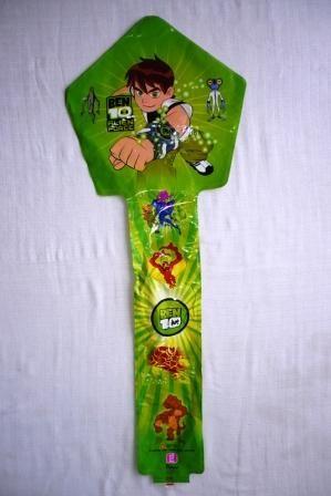 Balon Tiup Tongkat Karakter Ben 10