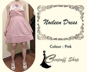 CODE : Noeleen Dress Pink