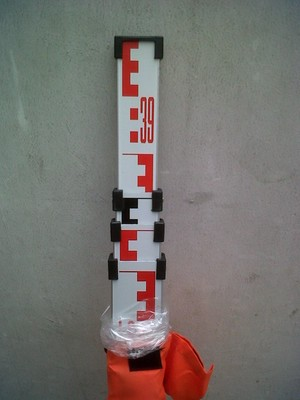 Levelling Stave/ Bak Ukur/ Rambu Ukur (4m)
