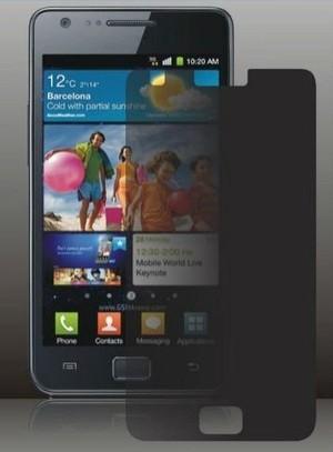 Screen Protector Anti Spy Samsung Galaxy S2 i9100