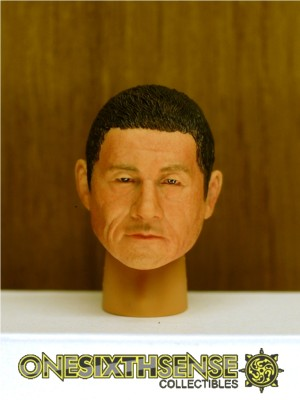 Headplay 1/6 Takeshi Kitano alike Custom Head Sculpt