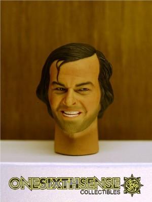 Headplay 1/6 Jack Nicholson alike Custom Head Sculpt
