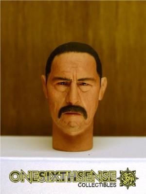 Headplay 1/6 Danny Trejo alike Custom Head Sculpt