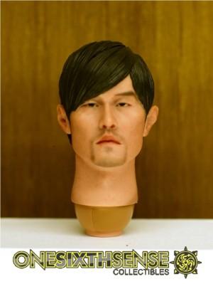 Headplay 1/6 alike Jay Chow Custom Head Sculpt