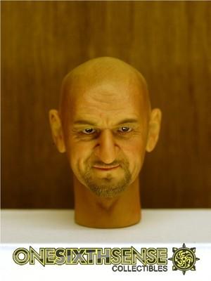 Headplay 1/6 Ben Kingsley Alike Custom Head Sculpt