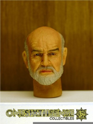 Headplay 1/6 Sean Connery No.1 Alike Custom Head Sculpt
