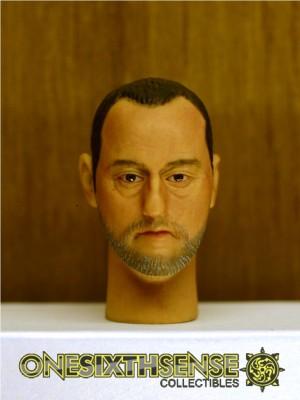 Headplay 1/6 Jean Reno Alike Custom Head Sculpt
