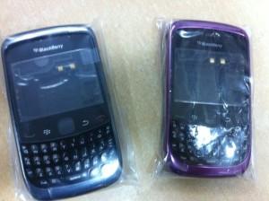 Original Casing Blackberry Gemini 3G 9300 Ungu