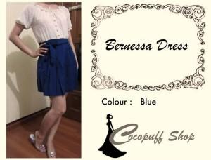 CODE : Bernessa Dress Blue