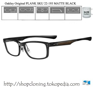 Oakley Original PLANK SKU 22-193 MATTE BLACK