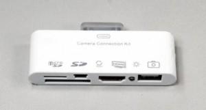 IPad Camera - 05 - MicroSD SD USB HDMI Camera