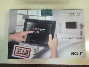 ACER Iconia TAB W500-BZ467 | Windows 7 Home Premium TABLET PC With Keyboard Dock