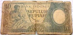 Uang Kuno Rp. 10