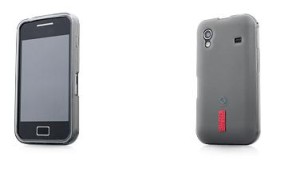 Capdase Softjacket For Samsung Galaxy Ace Black Transparan