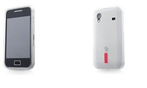 Capdase Softjacket For Samsung Galaxy Ace white