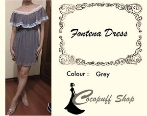 CODE : Fontena Dress Grey