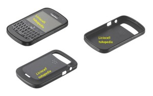Promo Soft Shell Original Blackberry Dakota 9900 9930 Black