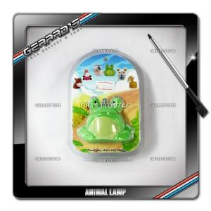 Animal Lamp Keychain Kodok